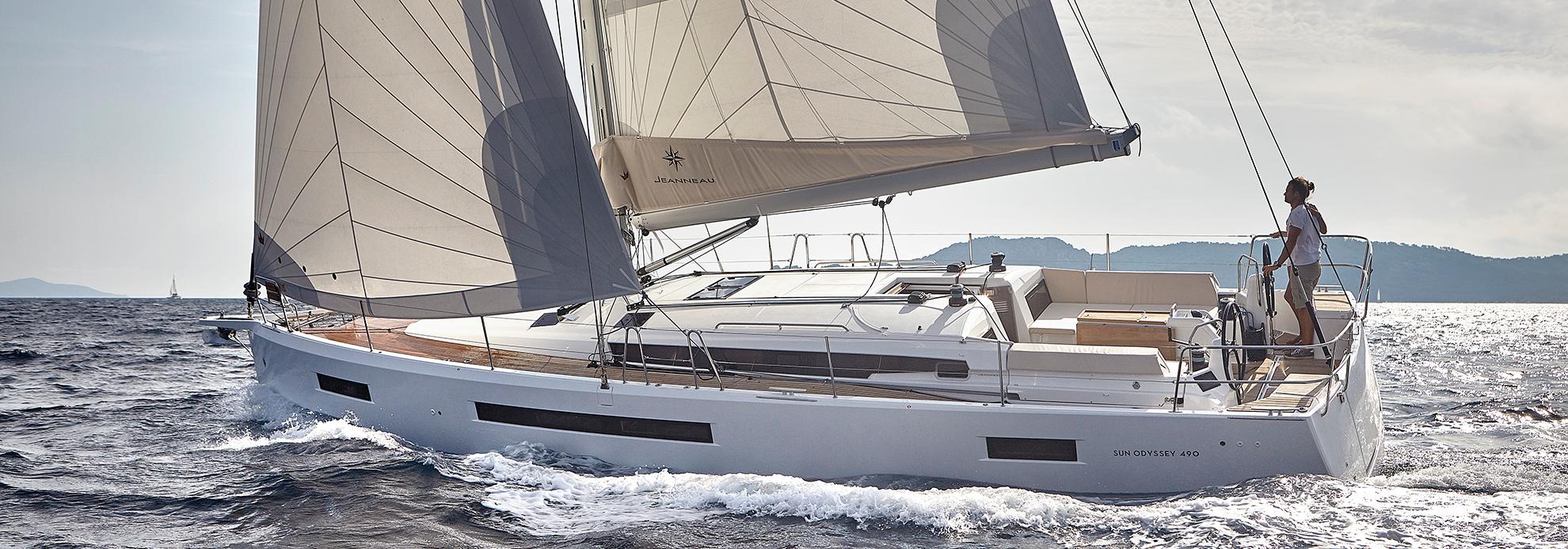 Jeanneau sun odyssey 410 - Riverside Marina & Yacht Sales