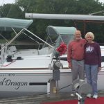 Happy owners of a Jeanneau 409