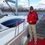 Happy owner of a Jeanneau 50 DS