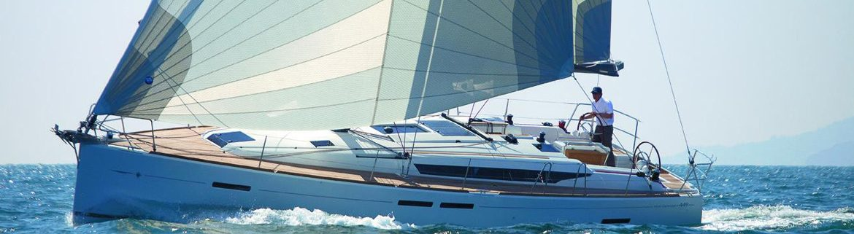 Jeanneau Sun Odyssey 449 full sail